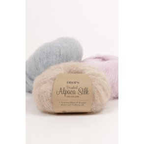 Drops - Brushed Alpaca Silk